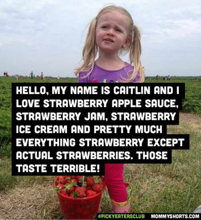 Moms Share The Hilarious Picky Eating Habits Of Kids -01